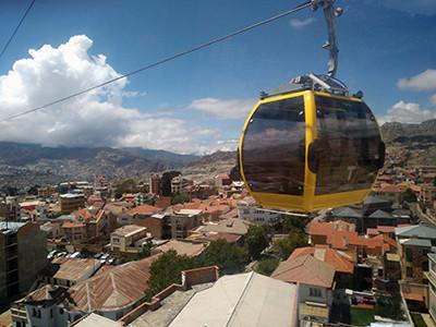 Mi Teleférico (My Cable car). La Paz - El Alto (Bolivia)
