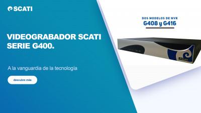 Nuevo videograbador SCATI. Serie G400