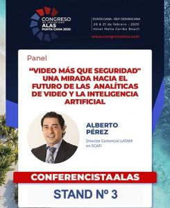 SCATI patrocinará el Congreso de Seguridad ALAS, Rca. Dominicana