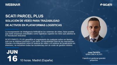 [Webinar] SCATI PARCEL PLUS, Solución de video para trazabilidad de activos en plataformas logística