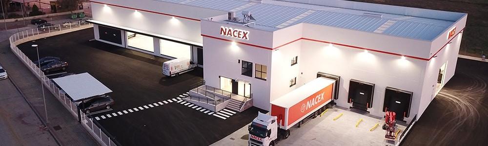 NACEX ya tiene operativa su nueva plataforma de Carmona, Sevilla