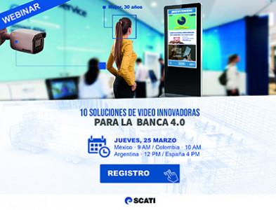 10 soluciones innovadoras de vídeo para la Banca 4.0