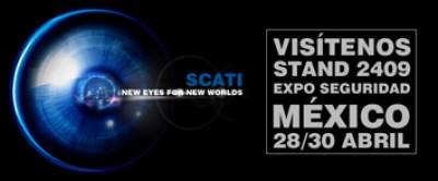 SCATI will be present at Expo Seguridad Mexico