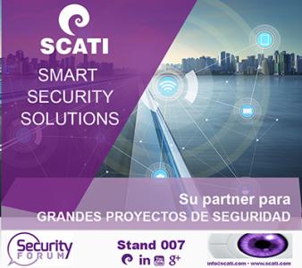 SCATI confirma asistencia en Security Forum